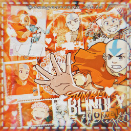 aang atla avatarthelastairbender avatar avatarthelastairbenderedits orange animeedit animeedits anime edit freetoedit