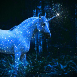 glitter blue unicorn aesthetic aestheticedit aesthetics aesthetictumblr aestheticblue magic freetoedit shine shinee sparkle sparkles animal blueglitter papicks picsart