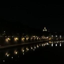 rome lungotevere night walking touristinmycity myoriginalphoto nofilter