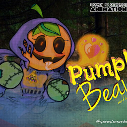 pumpkin beaty female sonypictures art sketch animation sketchesnewversionxstudios freetoedit