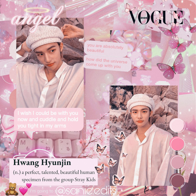 hwang hyunjin🌸🌸 kinda proud of this one🥺✨ . . . tags: #pinkaesthetic #hwanghyunjin #hyunjinstraykids #hyunjinedit #straykids  . . . taglist🤍 @jung_wooyoung99  @yunhosupportbott  @mariam_137  @atinypresent  @kang_mon  @nctinthehouse_05  @taes_shoes  @kirs_hop  @-matryosuga-  @seonghwa_eomma  . . . dm me to be added/removed from taglist✨