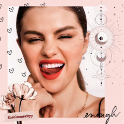 freetoedit replay selenator selenagomez quotes aesthetic sticker aestheticsticker fotoedit doodle moon star black vintage draw origftestickers autocollants sky background pink heart