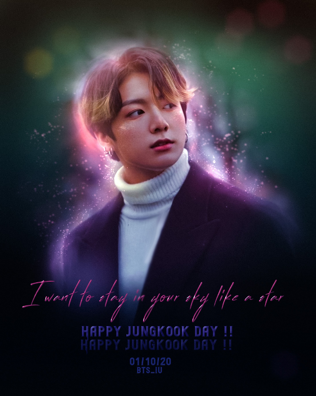 [ HAPPY JK DAY !!🐰💜]  Hewooo soo happy birthday to this cute bunny boi haa 😋❤ Love you jungkook :33  Ok I messed it up...it should be 01/09/20 anyway too lazyyy to change it..so here u go !! #freetoedit  #kpop #kpopedit #bts #btsjungkook #jungkook #jeonjungkook #jeongguk #jungkookedit  @picsart