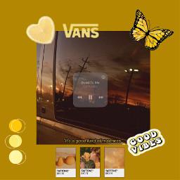 yellow aesthetic yellowaesthetic butterfly music musicaesthetic freetoedit