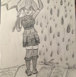 art pencil bored rain idontknowwhattohashtag