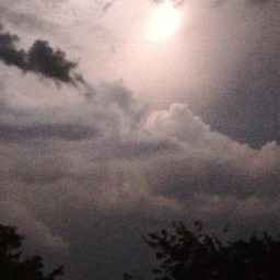 the ⛈️ 🌕 photography myphoto nofilter show rain storm lightning editedbyme