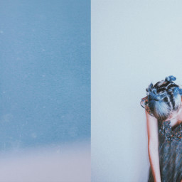 blue fly people photography emotions skin