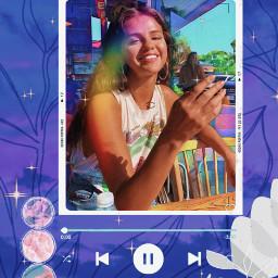 freetoedit aesthetic heypicsart picsart vintage retro template frame kodakframe polaroidframe beautiful remixme art artist charlidamelio selenagomez selenators song purple