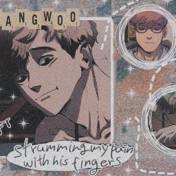 sangwoo killingstalking ohsangwoo imnotgay anime manwha yaoi boyslove freetoedit