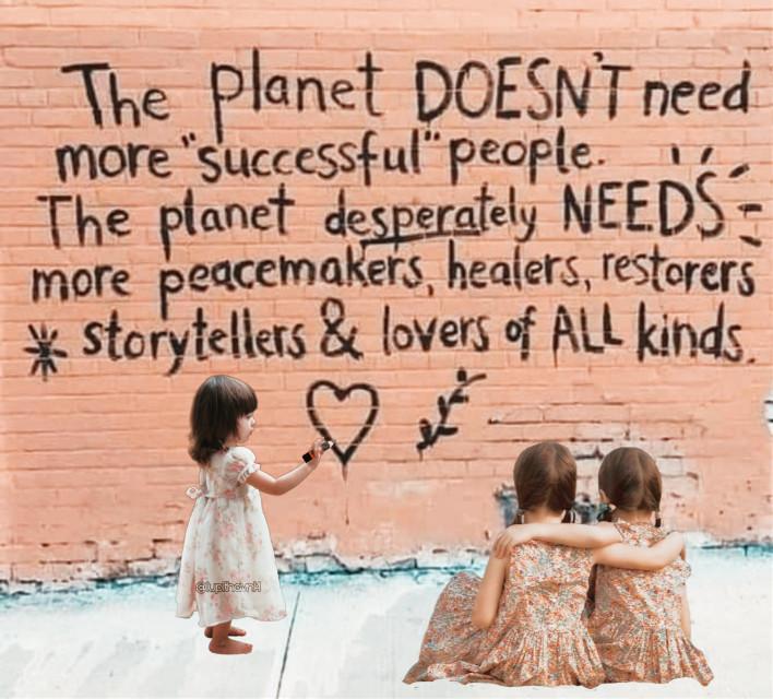 #streetquotes #quotes #graffiti #street #wall #brickwall #kids #children #planet