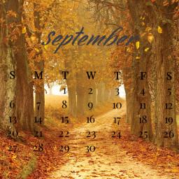 september calendar autumn srcseptembercalendar septembercalendar freetoedit