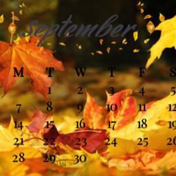 autumn september septembershere srcseptembercalendar septembercalendar freetoedit