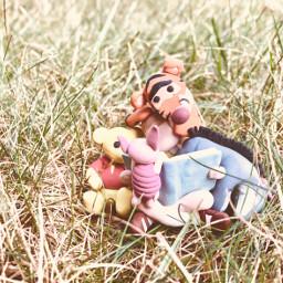 winniethepooh hundredacrewood christopherrobin eeyore tigger poohbear piglet myart polymerclay miniature cute childhood imagination