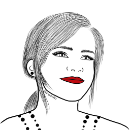 emmawatson mydrawing outlineart outline outlinegirl drawing colorme freetoedit
