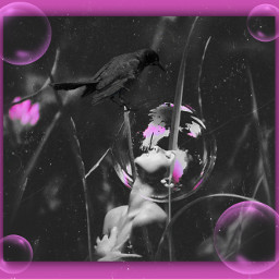 freetoedit photomanipulation imagination visualart digitalart pink picsarteffects remixedfrom@rahil85 remixedfrom