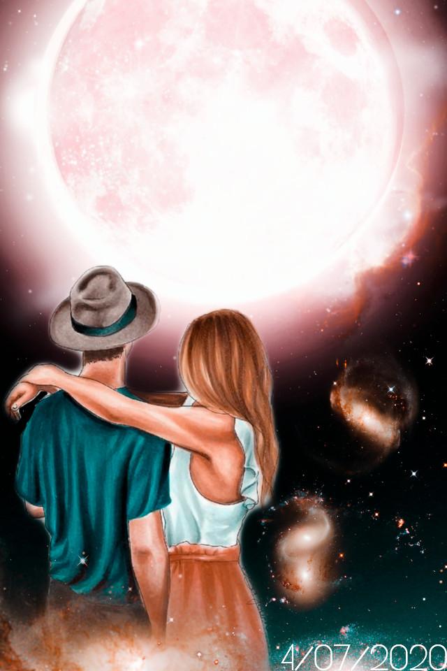"""""""Tan lejos , pero tan cerca, la misma luna nos acompaña""""🙏☀️4/07/2020 https://youtu.be/TFQHXj4GjRU #mylove  #myedit  #madewithpicsart  #picsart  #picsarteffects  #creative  #interesting  #remixit"""