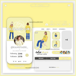 yellow ulzzang girl ullzanggirl korean ullzangedit