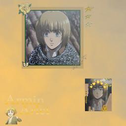 arminarlert attackontitan triosquad anime
