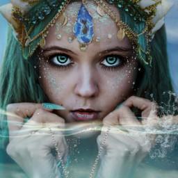 freetoedit marmaid fairytail fantasy editedwithpicsart