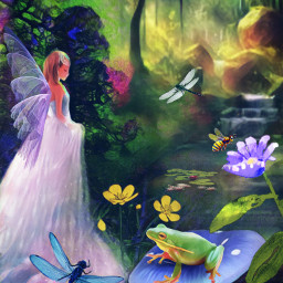 mastershoutout remixedwithpicsart fairy forest nature naturesbeauty naturelover fxtools magiceffect freetoedit