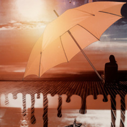 freetoedit edit sunnyday umbrella surreal