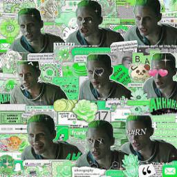 joker jokerandharley jokerlaugh dc harleyquinn suicidesquad jaredleto jared leto complex edit overlayedit superimpose green greenaesthetic heypicsart complexedit