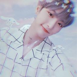 ateez seonghwa parkseonghwa kpop ateezseonghwa replay clouds cute freetoedit