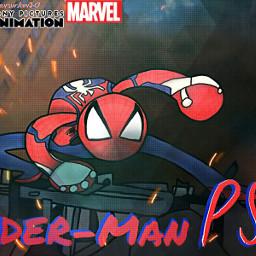 spiderman spidermanps4 marvel superhero sonypicturesanimation art sketchesnewversionxstudios freetoedit