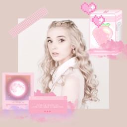 pink poppy poppysinger poppyseed pinkaesthetic poppyaesthetic singer pixel pinkpixels freetoedit