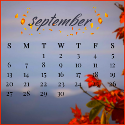 calender autumn fall landscape squarefit coloradjust bordertool keepitsimple heypicsart myedit madewithpicsart freetoedit srcseptembercalendar septembercalendar