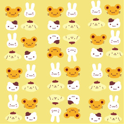 wallpaper sanrio cute kawaiiwallpaper cutewallpaper yellowwallpaper yellowaesthetic pastelyellow pompompurin kawaii kawaiiframes kawaiiaesthetic anime hellokitty mymelody cinamonroll hamster aesthetic adorable love yellowlove aestheticbackground background yellowbackground cutebackground freetoedit
