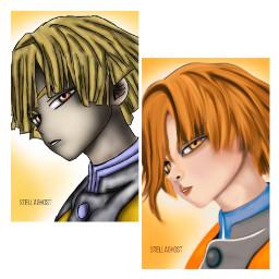 freetoedit myinterpretation paintedversion character animation drawing trendy transyhairstyle blond boy
