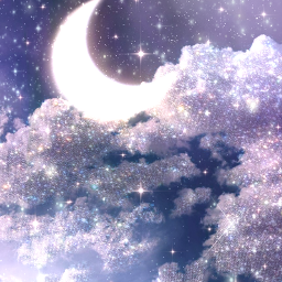 galaxy space freetoedit remixit glittergalaxy glitter glittery sparkle moon moonchild lighteffect myart background glow glowing light myedit edit sky