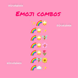 emojicombos aesthetic help accounthelp cute pink emoji star flower floweremoji staremoji rainbow rainbowaesthetic cherryblossom cherryblossompetals cherryblossomemoji tulip tulipemoji aestheticemojicombo aestheticemoji freetoedit