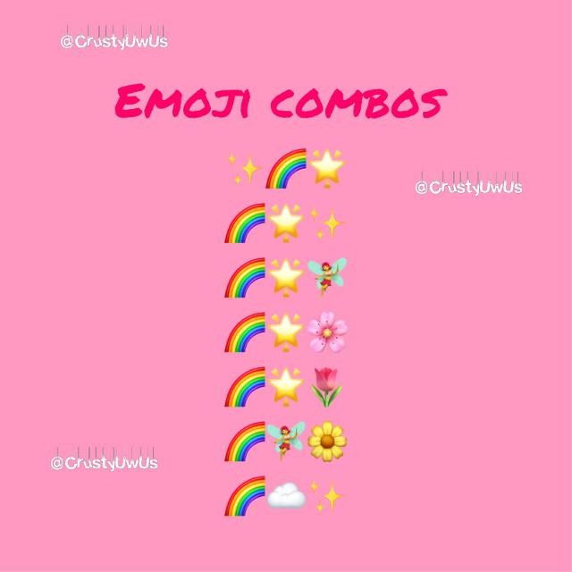 ✨🌈🌟 🌈🌟✨ 🌈🌟🧚♀️ 🌈🌟🌸 🌈🌟🌷 🌈🧚♀️🌼 🌈☁️✨ #emojicombos #aesthetic #help #accounthelp #cute #pink #emoji #star #flower #floweremoji #staremoji #rainbow #rainbowaesthetic #floweremoji #cherryblossom #cherryblossompetals #cherryblossomemoji #tulip #tulipemoji #aestheticemojicombo #aestheticemoji
