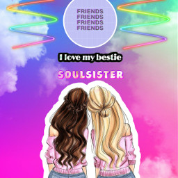 screamsquad bffgoals bffsisters bffsforever soulsisters freetoedit