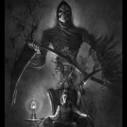 reaper blackandwhite