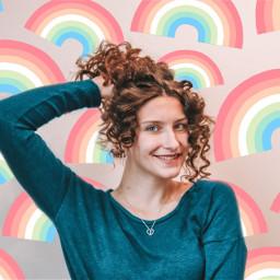 rainbow rainbowbackground background backgroundedit freetoedit