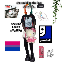 alt cinnamoroll hellokitty mothermother goodwill thrifting bisexual monsterenergy crybaby lilpeep blacklivesmatter baka septumpiercing splitdye