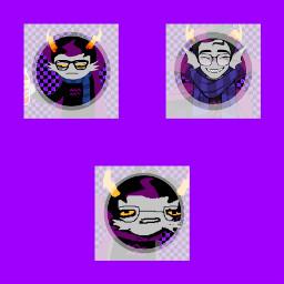 eridan eridanampora homestuck purple edit icon icons checkers cute aesthetic ftu ftuicons