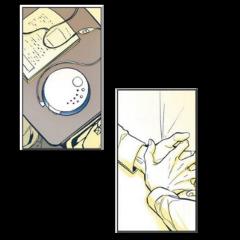 freetoedit yellow aesthetic comic yaoi