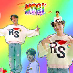 jhopebts btsjhope hoseokbts junghoseok hoseokjung hobi hobicore jhopeedit btsedit kidcore multicolor