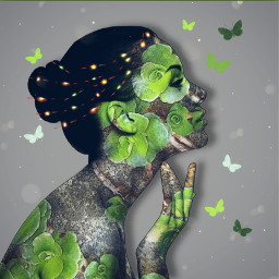 mastershoutout doubleexposure plants photomanipulation blending surreal artisticportrait madewithpicsart freetoedit