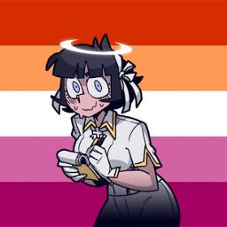 helltaker lesbian lgbt lgbtqia lgbtq wlw wlwpride azazel freetoedit