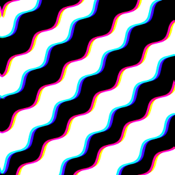 glitch wavy lines stripes wavylines opticalillusion psychedelic trippy illusion moving 3d pattern fun entertaining black white black&white colors colorful rainbow