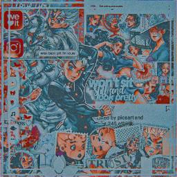 freetoedit yukakoyamagishi yukako koichihirose koichi jjba jojosbizarreadventure diamondisunbreakable diu