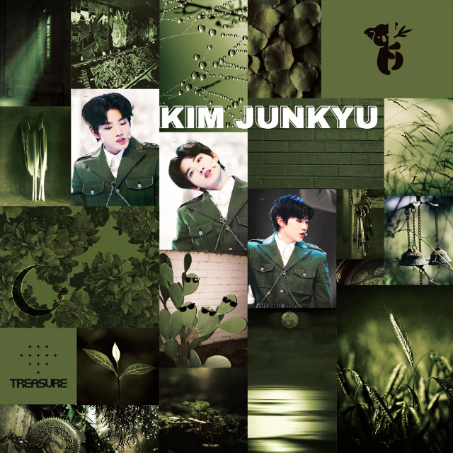 ✨Happy Junkyu Day!!!✨  In this post:  Name : Kim Junkyu Nationality : Korean Group : TREASURE Label : YG Color : Olive (?) Green Fandom Name : Treasure Maker (Teumae/Teume) Fandom Color : - Languages : Korean (and a little bit of Japanese?) Other Info : Handsome Koala; Wasn't confident about himself in the past; LIVING MEME; His reactions are gold; You might not even know that you know him; that dude from YG whose Annyeonghaseyo is know world wide; One of the hyungs of the group(he doesn't act like one); Baepakkcanteu; eNgGg? NaAa? Hashtags : #happyjunkyuday #treasure #teume #handsomekoala #kimjunkyu #junkyu #collage #collageedit #dysfunctional #ahgase #teumaes #freetoedit    So I started getting into TREASURE a few days ago and now they're extremely group-wrecking me(is that even a thing). I'm trying to keep my loyalty to GOT7 as an ahgase but it's getting harder by the day(it's been only like 3 days since I started stanning them and this is already my situation). So this account might change from dysfunctional ahgase to dysfunctional teume soon😅 Their new (second) mini album/single is coming out on the 18th of September, please show them some love. Also, stream BOY for a good life guys!  Hope you liked this edit!!! Sincerely,                A Dysfunctional aghase & teume💚   <3