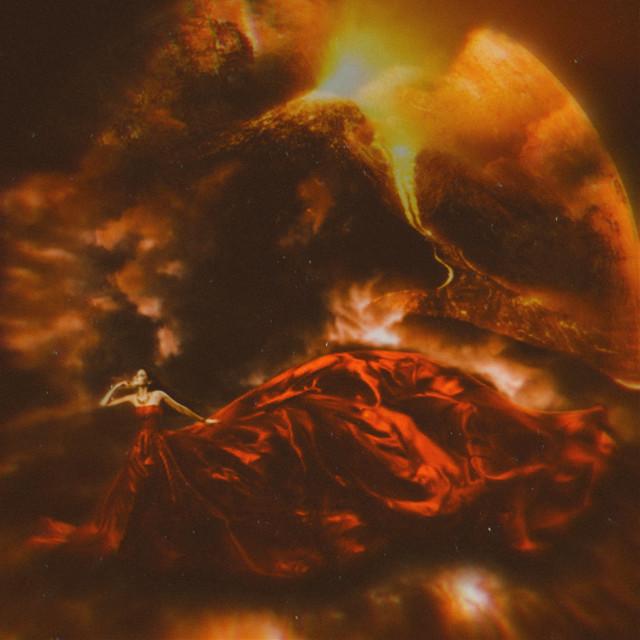 Hestia, Goddess of fire #freetoedit #picsart #remixed #remixit #myedit #photoedit #photomanipulation #digitalart #digitaledit #madewithpicsart #editedbyme #editedwithpicsart #surrealism #magic #fantasy #stayinspired #picsarteffects #unsplash #pexels #shutterstock #pastickers #woman #fire #red #planet
