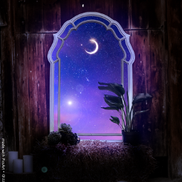 freetoedit window dream night sky space