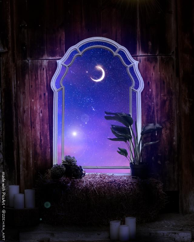 #freetoedit #window #dream #night #sky #space